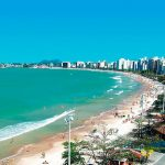 Praia do Morro Guarapari.