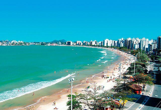 Praia do Morro Guarapari.